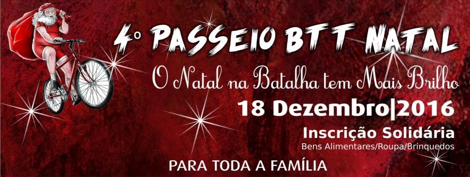 Batalhabikers organizamBTT solidário no Natal