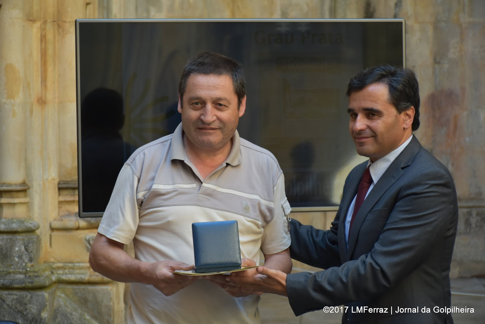 Jornal da Golpilheira recebeMedalha Municipal de Mérito