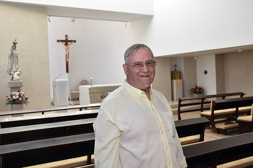 Missa e almoço dasBodas de Ouro do padre João