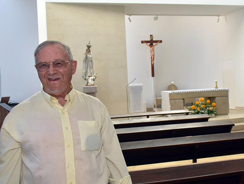 """Entrevista ao padre João da Felícia:""""É uma vida doada. Deus seja louvado! Estou feliz!"""""""