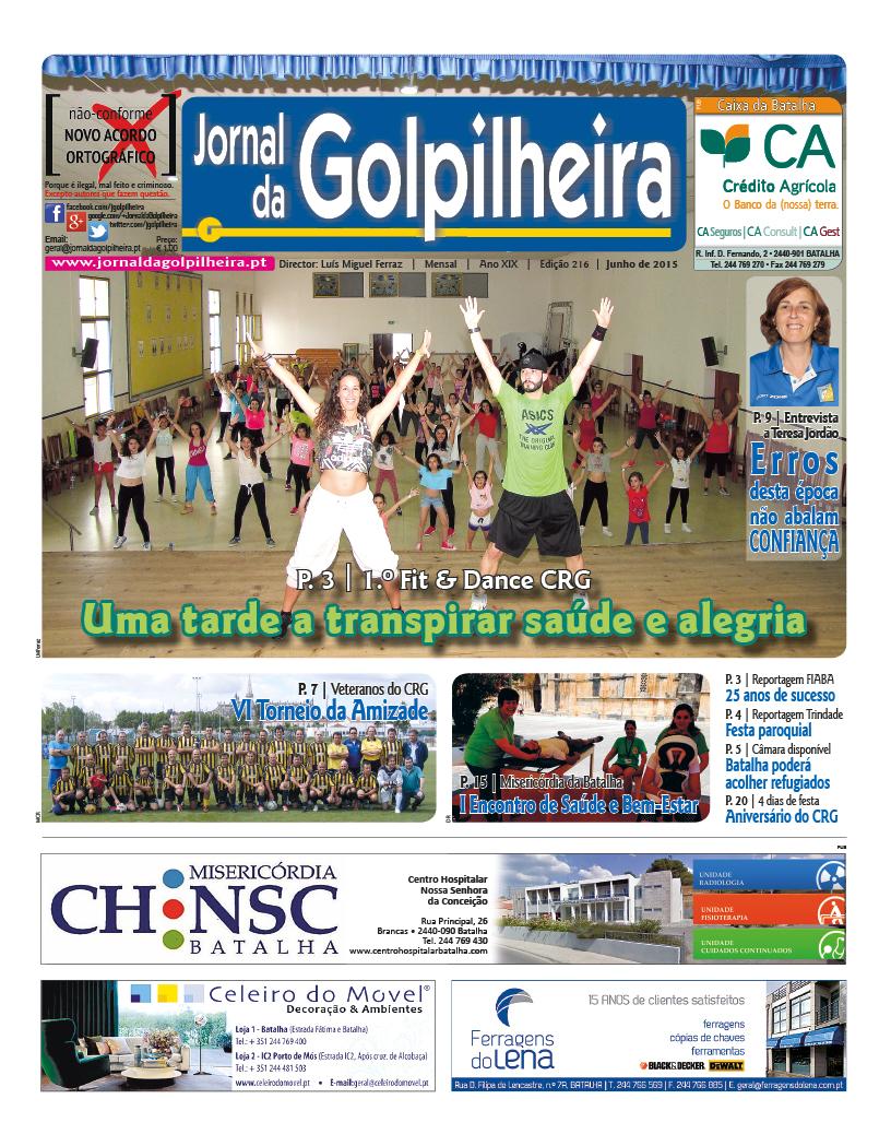 Capa da edição de Junho