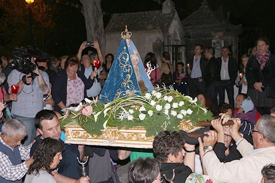 """Festa em honra da Senhora do Fetal com as""""procissões de caracóis"""""""