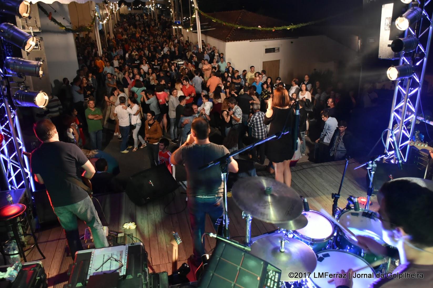 Multidão festejouSenhor Bom Jesus dos Aflitos,Padroeiro da Comunidade Cristã da Golpilheira