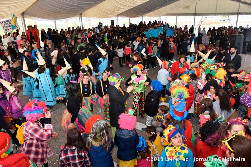 Desfile de Carnaval das escolas da Batalha