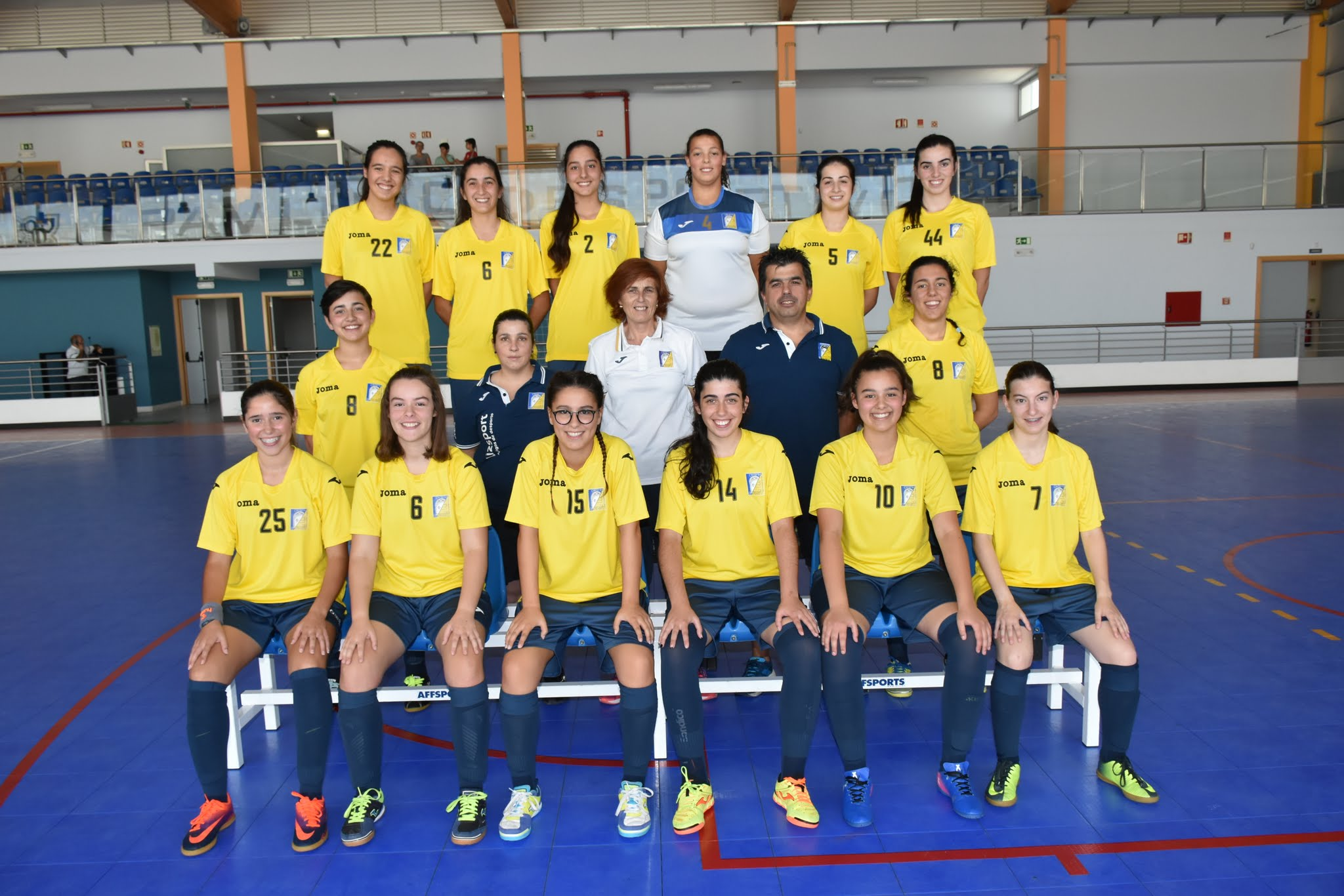 Futsal feminino sénior:Título nacional é possível