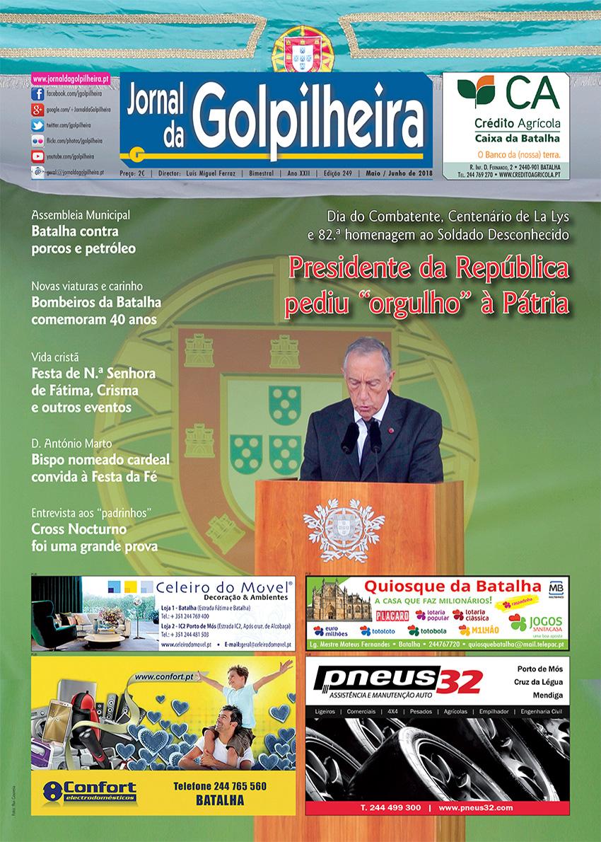 Edição 249 – Maio/Junho de 2018 (1.ª Página)