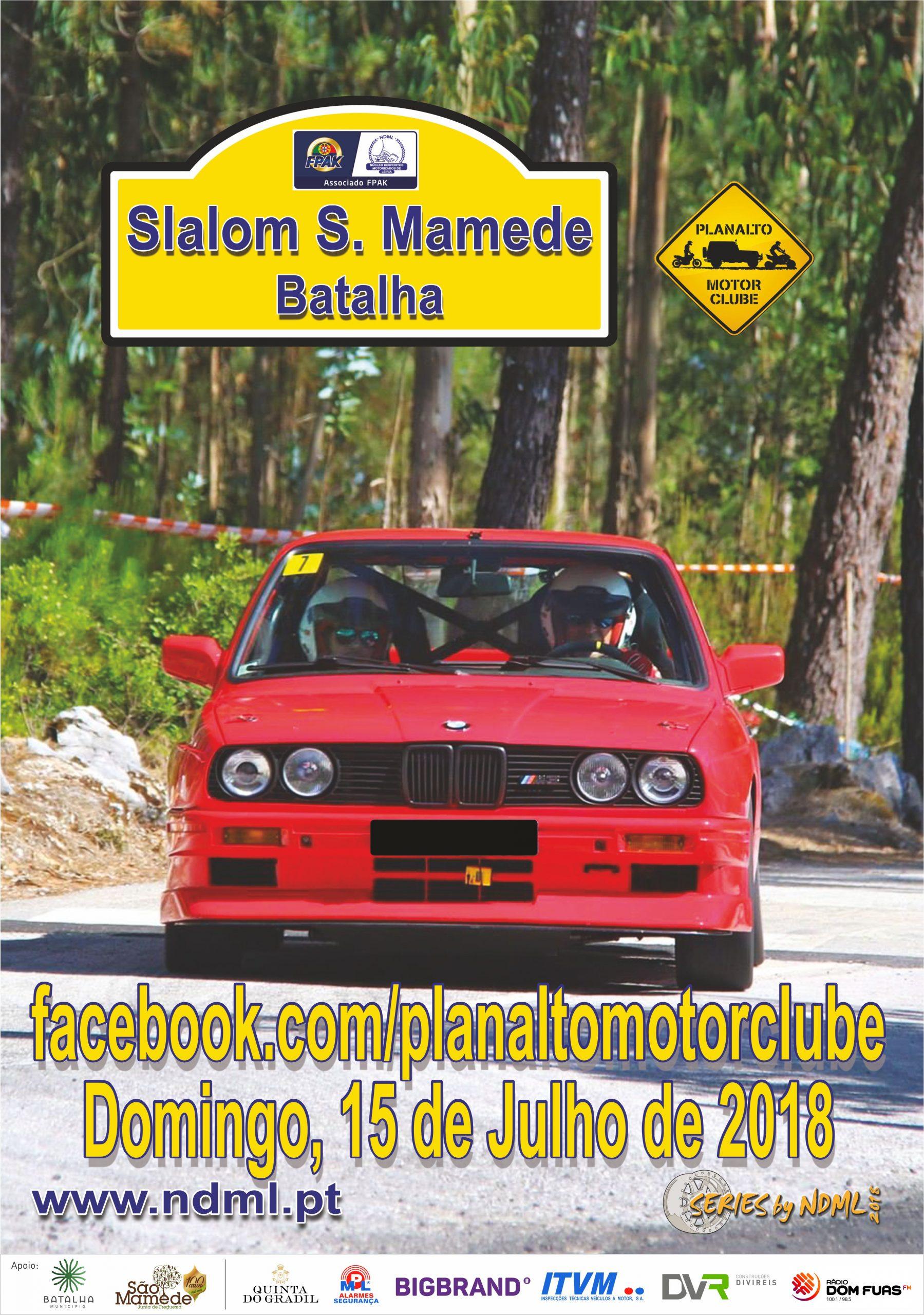 Slalom de S. Mamede a 15 de Julho