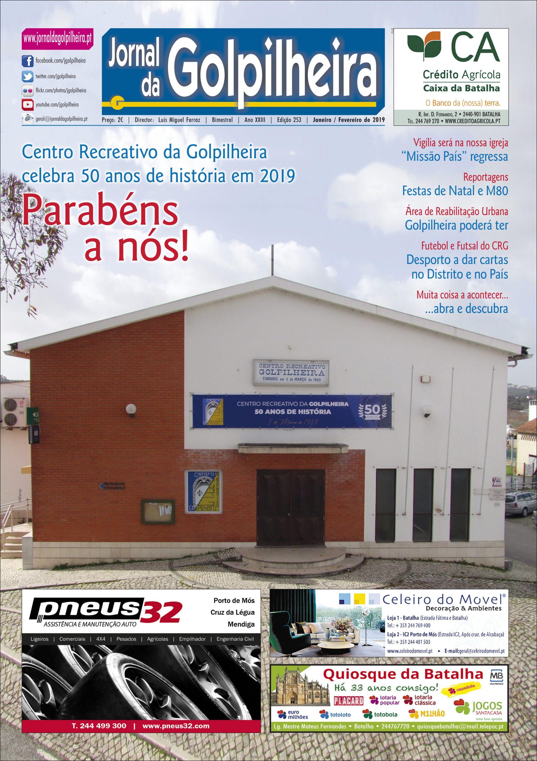 Edição 253 – Janeiro/Fevereiro de 2019 (1.ª página)